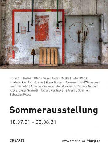 © CREARTE e.V. - Sommerausstellung der MItglieder 2021