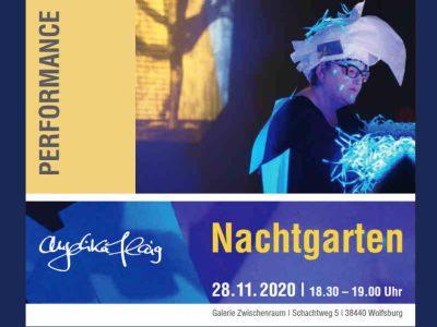 "Angelika Flaig - Performance ""Nachtgarten"""